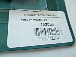 Rapido # 102060 Roller Bearing 70-Ton Trucks 1 Pair HO Scale image 3