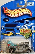 Qiyun Hot Wheels 218 Baby Boomer 2002 Series Happy Birthday Race Win Logo - $3.96
