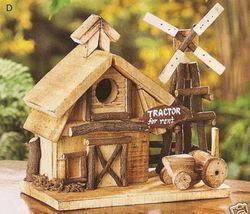 Barnyard Wood Birdhouse  - $21.75