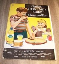 1950 Rawleigh's Good Health Guide Almanac Cook Book Catalog Vintage Maga... - $7.92