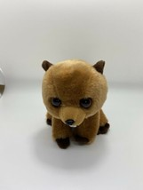 "Classic Ty Beanie Babies Richie The Beaver 6"" Brown Plush Solid Eye Color. - $12.77"