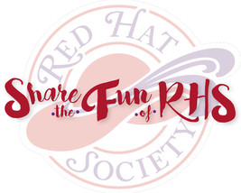 4 X Purple T Shirt Share The Fun (2) Rhs 2016 Theme For Red Hat Ladies Of Society - $26.72