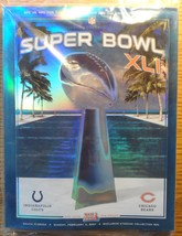 Superbowl 41 Official Game Program 2007 Indianapolis Colts Vs. Chicago B... - $19.95