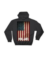 HOLLAND Family Name : Gift Hoodie American Flag Name USA United States P... - £26.17 GBP+
