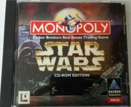 Monopoly STAR WARS: LucasArts Hasbro Interactive Windows 95 CD ROM 1997 - $5.95