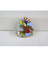 1984 Summer Olympic Games Pin - Swimming Event - Featuring Sam the Mascot - $19.00
