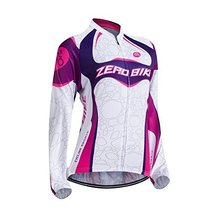 ZEROBIKE® Women's Long Sleeve Cycling Outdoor Sports Jersey Polyester Fu... - $20.78