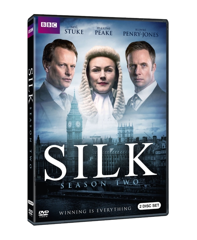 Silk second season two 2  dvd 2016  2 disc 2