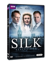 Silk second season two 2  dvd 2016  2 disc 2 thumb200
