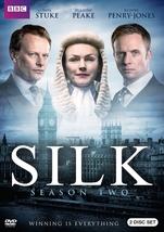 Silk second season two 2  dvd 2016  2 disc  thumb200