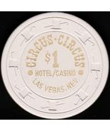 $1 Casino Chip, Circus Circus, Las Vegas, NV. B34. - $5.50