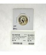 1964 United States Washington Quarters Dollar 90% Silver RATING: (F) Fin... - $3.67 CAD