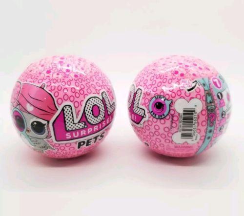 2 LOL SURPRISE PETS Series 4 EYE SPY Pet ANIMALS BALL Doll L.O.L. Owl