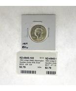 1964 United States Washington Quarters Dollar 90% Silver RATING: (F) Fin... - $3.79 CAD