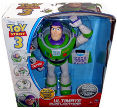 Toy Story 3 Buzz Lightyear Ultimate Voice Command 16in. Robot RC Remote ... - $659.95