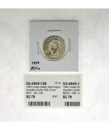 1964 United States Washington Quarters Dollar 90% Silver RATING: (F) Fin... - €2,38 EUR