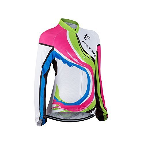 Primary image for ZEROBIKE® Women's Long Sleeve Cycling Outdoor Sports Jersey Polyester Ful...