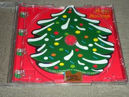 Christmas Tree Musical Shaped CD Ornament 1998 5 songs: Silent Night; De... - $7.49