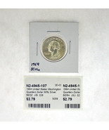 1964 United States Washington Quarters Dollar 90% Silver RATING: (F) Fin... - €2,34 EUR