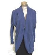 Halogen Size S  petite Purple Open Flare Long Sleeve Cardigan Sweater - $17.52