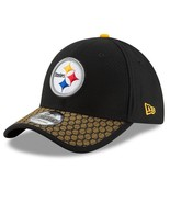 Pittsburgh Steelers New Era 39Thirty Official NFL Sidelines FlexFit S/M ... - $27.20