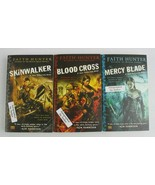 Faith Hunter Mercy Blade Skinwalker Blood Cross Signed Autographed Lot Set - $42.04