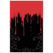 Gothique Horror-Black Saignant Gouttes Porte Mur Table Cover-Haunted Maison - $5.90