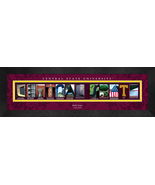 Personalized Central State University Campus Letter Art Framed Print - $39.95
