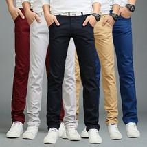 2018 Summer New Fashion Men Trousers Pants Thin Casual Cotton Men's Soft Pant So - $28.56