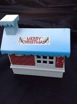 SCIENTIFIC TOYS LTD Christmas Music Box Building House JINGLE BELLS Vintage - $9.95