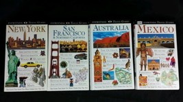 Lot 4 Eyewitness Travel Guides Australia, Mexico, San Francisco, New York - $9.97