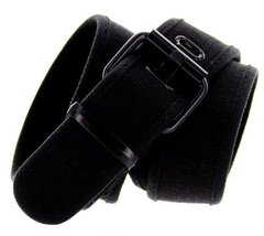 6033 Nylon Stretch Belt 1-5/8 Wide (L(38-40), Black) - $9.88