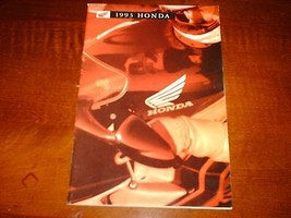 1993 Honda Motorcycle Full Line  Brochure ATVs Cruisers Scooters Sport Bikes - $11.25