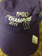NCAA Washington Huskies PAC 10 Tourney Champions 2011 Hat NEW - $5.99