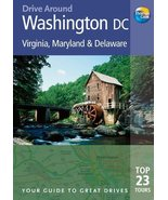 Drive Around Washington DC, 3rd: Your guide to great drives. Top 23 Tour... - $24.52