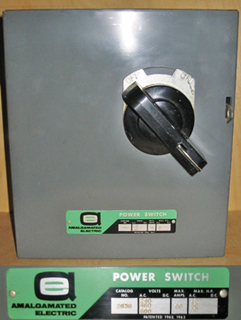 Aec 60a 600v disconnect switch a