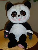 Animal Babies Talking Giggling Baby Panda Bear Plush Animal - $19.99
