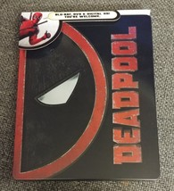 Deadpool Limited Edition Exclusive Best Buy Steelbook  [Blu-ray + DVD]