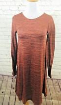 Old Navy Womens Sweater Dress Size XS Extra Small Orange Long Sleeve Lig... - $16.99