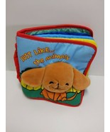 Just Like the Animals And The Farmers Cloth Sensory First Year Infant Bo... - $14.69