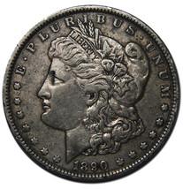 1890 MORGAN SILVER $1 DOLLAR Coin Lot# A 234