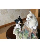 BORDER FINE ARTS COLLIE PUP AND LAMB BY RAY AYRES 1985 - $45.00