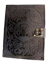 Handmadecraft Large Tree of Life Leather Journal Diary Notebook for Writ... - $37.14