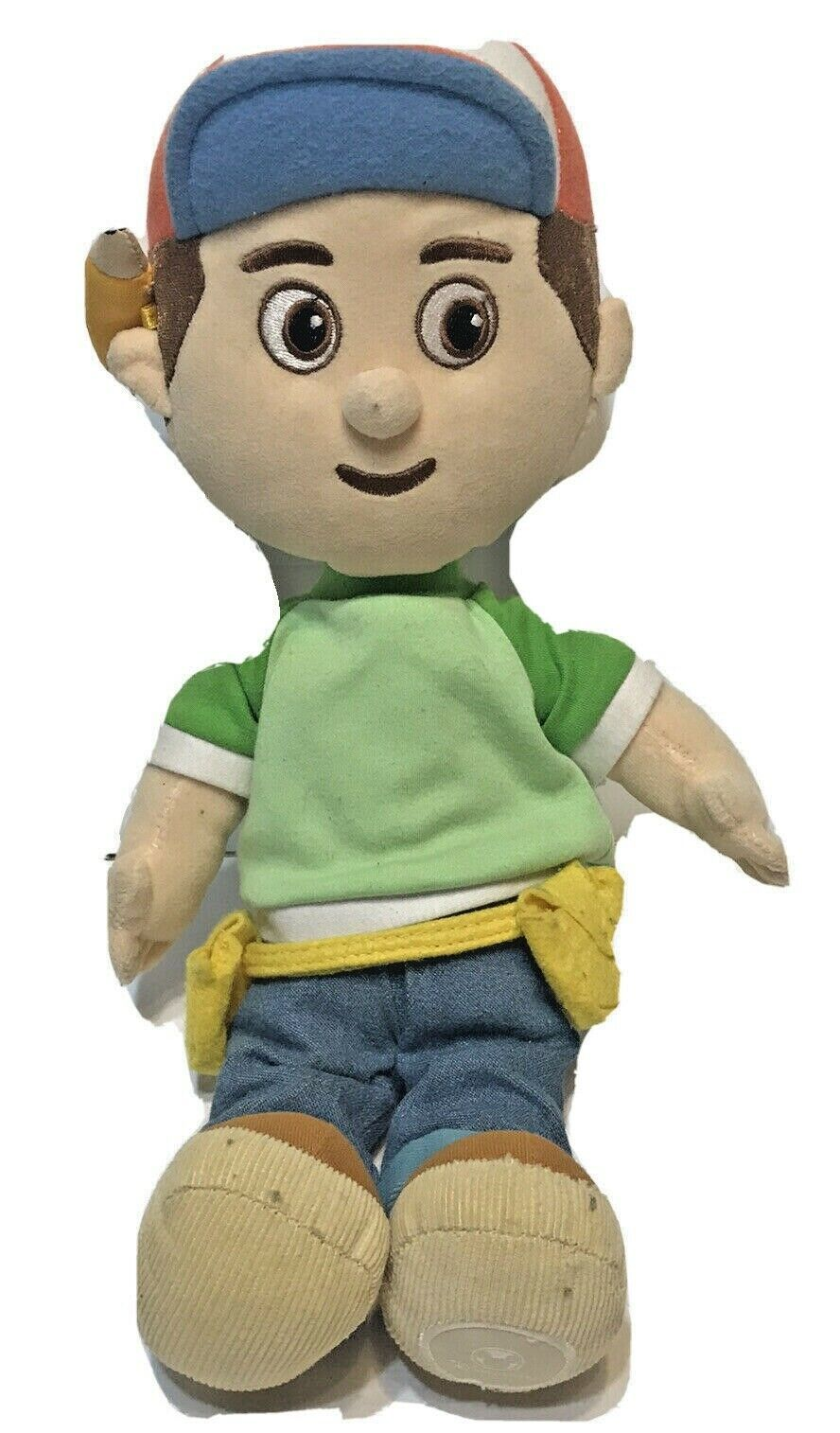 "Primary image for Disney Store Handy Manny Core 16"" Plush Toy Doll"