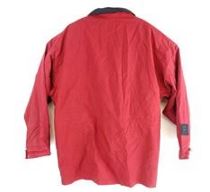 VTG Chaps Ralph Lauren Men's Red Full Zip Hiking Windbreaker Jacket Sz XL  - $19.05