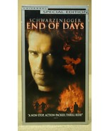 Universal End Of Days VHS Movie  * Plastic * - $4.34