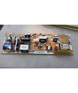 7DDD62 SAMSUNG LN32C350 TV POWER BOARD, FROM UNIT WITH BAD VIDEO PROCESS... - $34.42