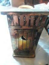 "Berkely Designs Wind Up Copper Tin  Vintage OutHouse Music Box ""THE WAY ... - $15.83"