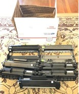 Empty Toner Cartridge Brother TN730 Lot of 5 & 2 Drums Used For Refill - $42.12