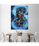 Wall Poster Art Giant Picture Print Hanzo Overwatch 2371PB - $22.99